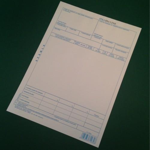 B10-01/V számla (400 gr/cs)