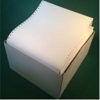 Önátírós nyomtató leporelló, 2 lapos