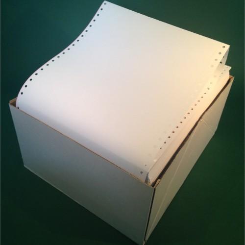 """Önátírós nyomtató leporelló  (382x12""""), 2 lapos"""