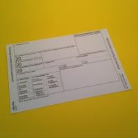 C7976-2013 Tértivevény megszemélyesítés (5 000 db rendelés felett)